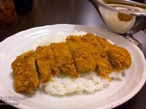 ロースカツカレー(ジャワ)1200円/100時間カレー B&R 神田店