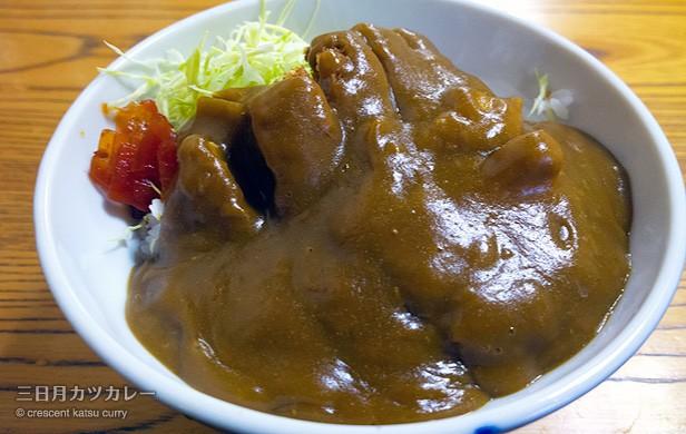 カツカレー750円/河金