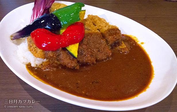 イベリコ豚のカツカレー膳 950円/洋食膳 海カレーTAKEUCHI